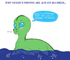 DAPlesiosaur gift-Why my photos are always blurred by IllyDragonfly