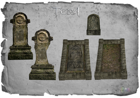 TERA Tombstones by Tiffli