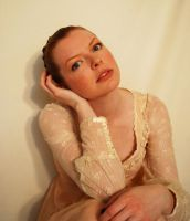 Lace Portrait Stock 1 by chamberstock