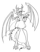 Dragon Lady Lines by Pink-Myotis