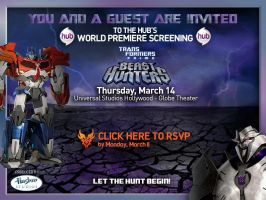 Tfprime Beast Hunters Thursday March by arceeenergon