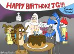 Happy Birthday, JG Quintel! by Augustusalex