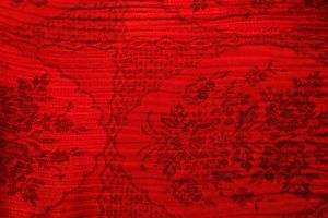 Threads in Reds fabric by paintresseye