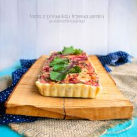 beet leaves and three cheese tart by Pokakulka