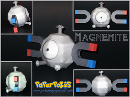 Magnemite Papercraft by Skeleman