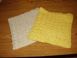 Another crochet washcloth by audreydc1983