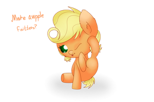 Mwre awple fwiters? by Extra-Dan