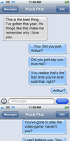Arthur's B-Day (The I Love You Texts) [2] by DustAddsCharacter