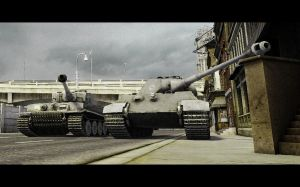 World of Tanks: Prince and King by PurpleGhost204