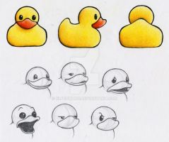 Rubber Ducky Character Sheet by Elfedward