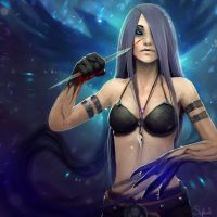 I am the Raven by Sephiroth-Art