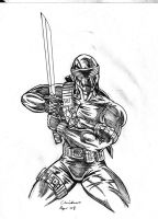 SNAKE EYES - PENCILS by DSNG