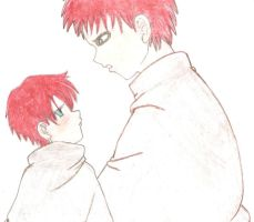 Garra and son by sweetdreamkiss
