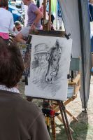 Artist At Work by Bazz-photography