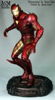 Iron Man Statue Painted - 03 by ASM-studio