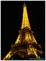 Yellow Eiffel by TheEternalSpectator