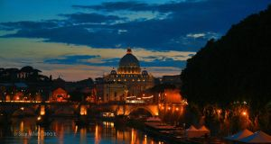 Rome Dusk by 1shotaway