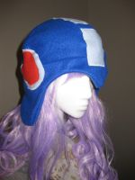 Mega man hat! by FairyAnts