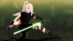 Ino Jedi Knight by UnreaLPiXel