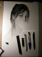 Drawing Angelina Jolie s2 by Per-Svanstrom