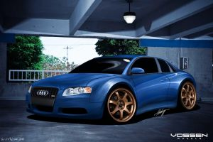 Audi A4 by thehppBG