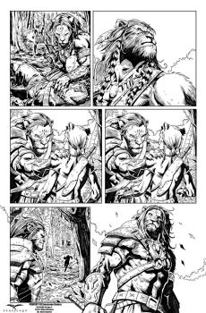Oz Zenescope  SAMPLE PAGE I 4 P 9 by Zimprich
