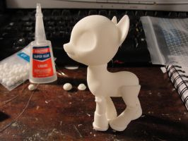 WIP MLP BJD by silverbeam