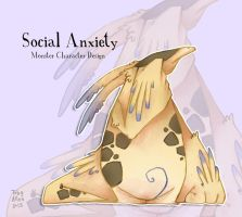 Social Anxiety by ZestyDoesThings