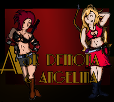 Demona and Angelina showcase by Fundz64