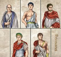 Historia DA collection - Romans by Lythilien