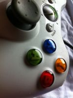 Xbox 360 Controller - White by floxx001