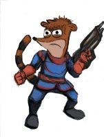 Rocket Rigby by TheLivingShadow
