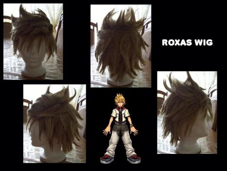 Roxas's Wig by Team66cosplay