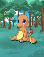 Charmander by o0Mythius0o