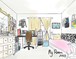 Art Challenge: My Room by Rice-Lily