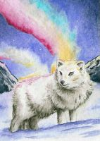 Arctic Lights ATC by Kenai-Okami75