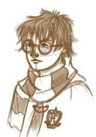 Harry Potter sketch by barbaroka
