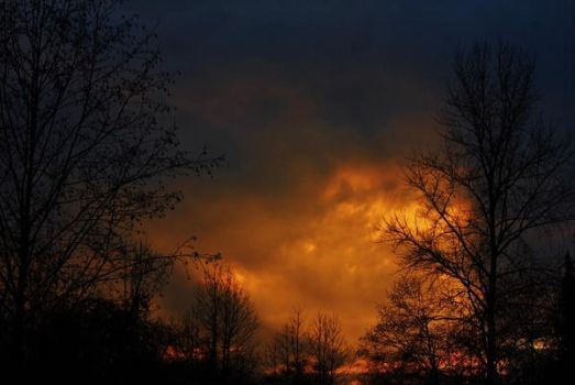 Fiery evening. by lucium55