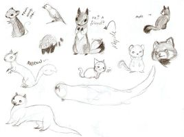 Uplift Sketches 2 by Joava