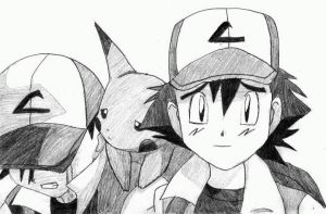 Ash ketchum by chickenlady4321