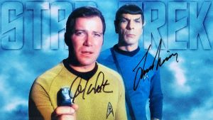 Spock and Kirk V by Dave-Daring