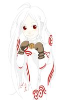 deadman wonderland Shiro by 1itt1e-1i