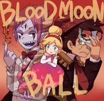 BLOOD MOON BALL by rukuru0oekaki