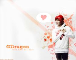 G-Dragon Wallpaper by kairomon