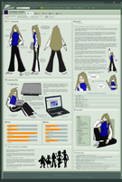 Caretaker: Reference Sheet by Caretaker-of-Myth