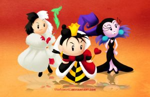 Disney Villains 3 by Thiefoworld
