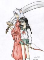 Inuyasha and Kagome by SS-Chan