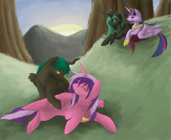 Commish: In the sunlight by Forever-Risa