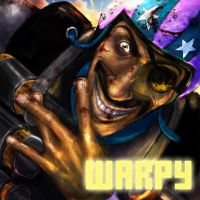 Warpy: Full Sized Spray by vebelfetzer