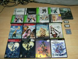 Square Enix Collection Updated by Iron-Jaden